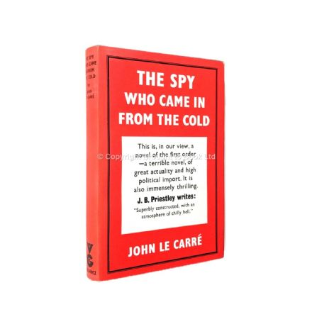 The Spy Who Came In From the Cold Signed John le Carré First Edition Victor Gollancz 1963